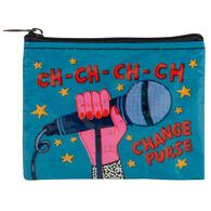 Blue Q Women's Ch-Ch-Ch-Ch Change Coin Purse