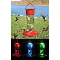 Bobbo Solar Hummingbird Bird Feeder