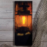 Ohio Wholesale Lighted Campers Lantern Canvas Sign