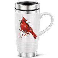 Big Sky Carvers Redhead Cardinal Travel Mug