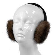 Mitchies Matchings Women's Mink Fur Ear Muffs
