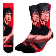 Good Luck Sock Men's Rambo 200 Needle Crew Sock