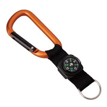 Munkees Strap & Compass Carabiner