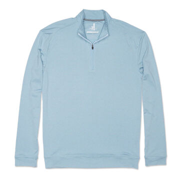 johnnie-O Mens Striped Flex Prep-formance 1/4-Zip Pullover