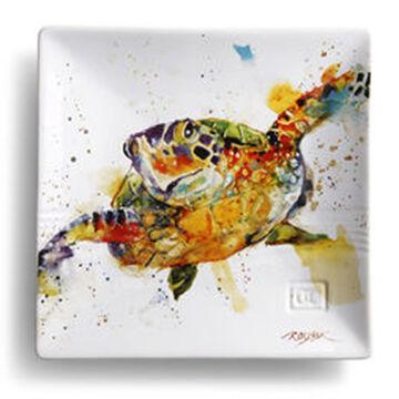 Big Sky Carvers Turtle Snack Plate