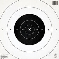 Champion NRA GB8 (CP) 25 Yard Timed & Rapid Fire Paper Target - 12 Pk.