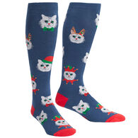 Sock It To Me Women's Stretch-It Santa Claws Knee High Sock