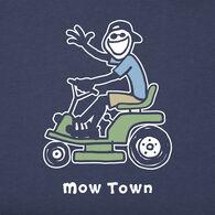 Life is Good Men's Mow Town Jake Vintage Crusher Short-Sleeve T-Shirt