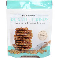 Hammond Candies Sea Salt & Caramel Drizzle Peanut Crisps