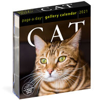 Cat 2021 Page-A-Day Gallery Calendar by Workman Publishing