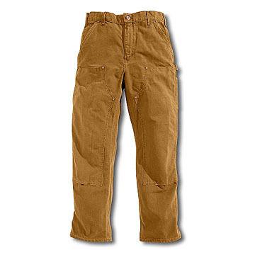 Carhartt Mens 12 oz. Cotton Duck Double Front Pant
