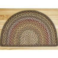 Capitol Earth Fir/Ivory Braided Slice Rug