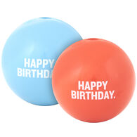 Planet Dog Orbee Tuff Happy Birthday Ball Dog Toy