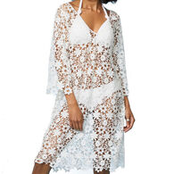 Odd Molly Women's Holy Lace Beach Dress
