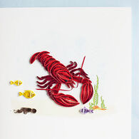 Quilling Card Lobster Everyday Card