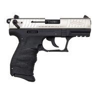 """Walther P22 QD Nickel 22 LR 3.42"""" 10-Round Pistol"""