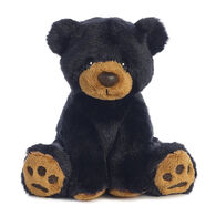 "Aurora Lil Ray Black Bear 5"" Plush Stuffed Animal"