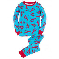 Hatley Boys' Lobster Pajama Set