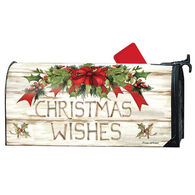 MailWraps Christmas Wishes Magnetic Mailbox Cover