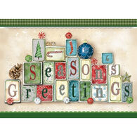 LPG Greetings Seasons Greeting Boxed Christmas Cards