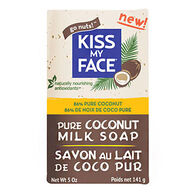 Kiss My Face All-Natural Pure Coconut Milk Bar Soap