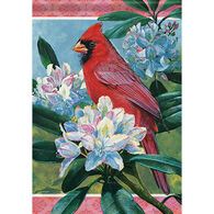 Carson Home Accents Cardinal Beauty Garden Flag