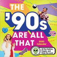 Sourcebooks The '90s Are All That 2020 Wall Calendar
