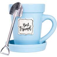 Oak Patch Gifts Best Friend Flower Pot Mug