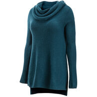 ExOfficio Women's Pontedera Cowl Neck Sweater