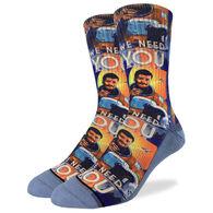 Good Luck Sock Men's Neil deGrasse Tyson Crew Sock