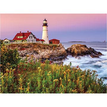 White Mountain Jigsaw Puzzle - Lighthouse