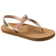 Reef Girls' Little Twisted Stars Flip-Flop