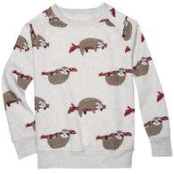 L.A. SOUL Women's Sloth Sweatshirt