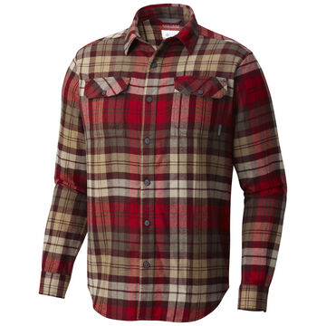 Columbia Mens Big & Tall Flare Gun Flannel Long-Sleeve Shirt