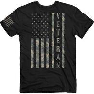 Buck Wear Men's Vet Digi Flag Short-Sleeve T-Shirt