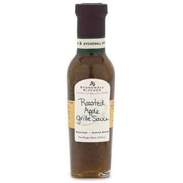 Stonewall Kitchen Roasted Apple Grille Sauce, 11 oz.