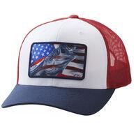 Huk Men's Americana Frogger Trucker Hat