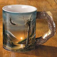 Wild Wings Flying Free Eagle Mug