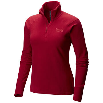 Mountain Hardwear Womens Microchill 2.0 Zip T Fleece Top