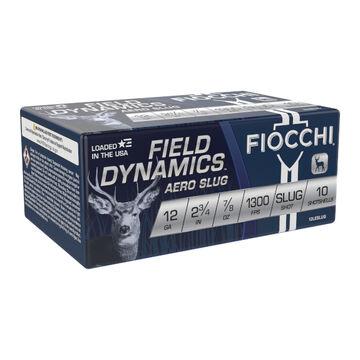 Fiocchi Field Dynamics 12 GA  2.75 7/8 oz. Slug Ammo (10)