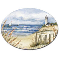 Keller Charles Lighthouse Oval Platter