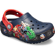 Crocs Boy's Fun Lab Marvel Band Lights Clog