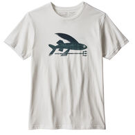 Patagonia Men's Flying Fish Organic Cotton Short-Sleeve Shirt