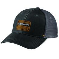 Carhartt Men's Canvas Mesh-Back Quality Graphic Hat