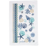 Kay Dee Designs Blue Shells Terry Kitchen Towel