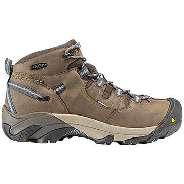 Keen Mens Detroit Waterproof Steel Toe Mid Cut Boot