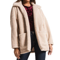Z Supply Women's Sherpa Teddy Bear Coat