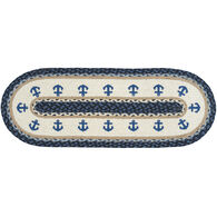 Capitol Earth Anchor Oval Patch Printed Runner