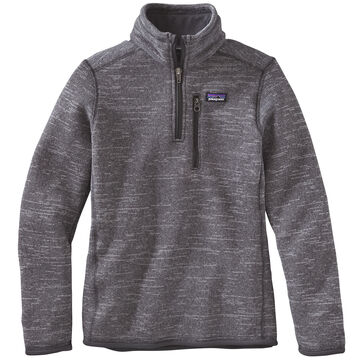 Patagonia Boys Better Sweater 1/4 Zip Fleece Pullover