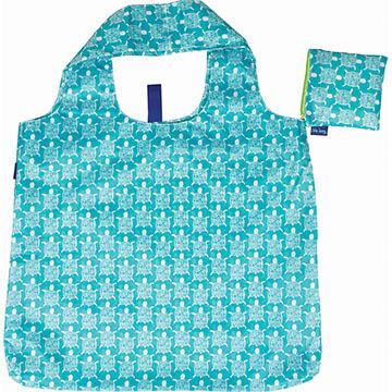 Rockflowerpaper Sea Turtle Ocean Reusable Blu Bag